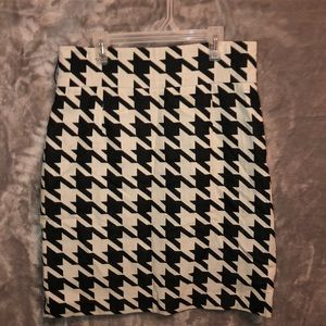 Antonio Melani Herringbone Pencil Skirt